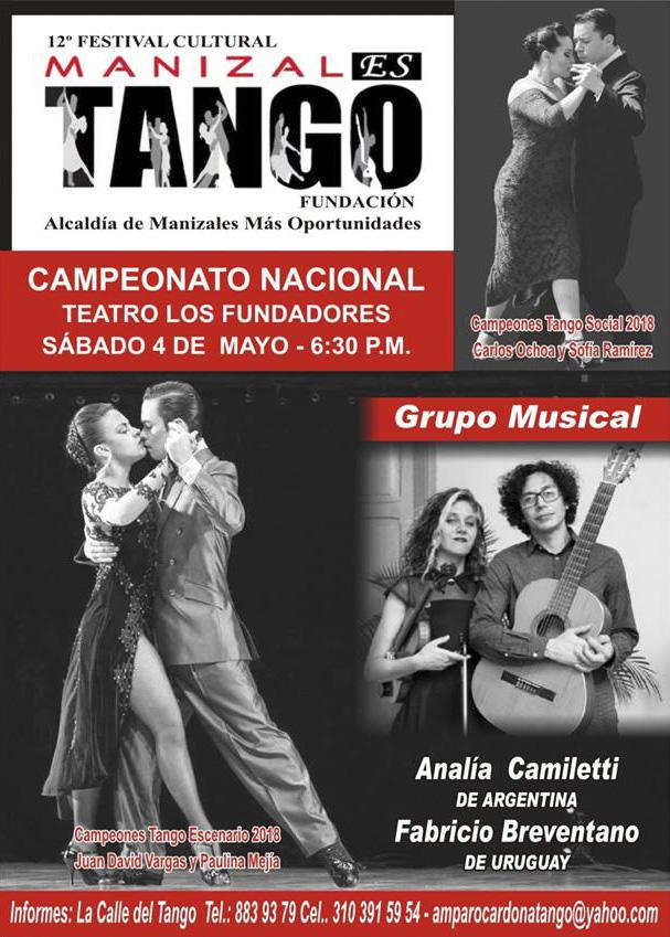 Manizales es Tango – Mayo