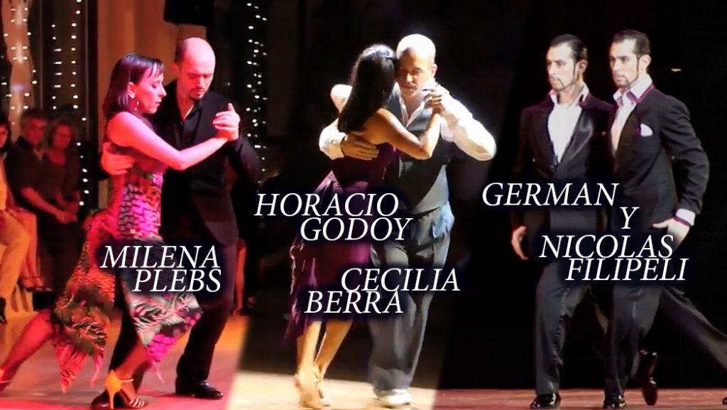 Programación Festival Tango al Mayor