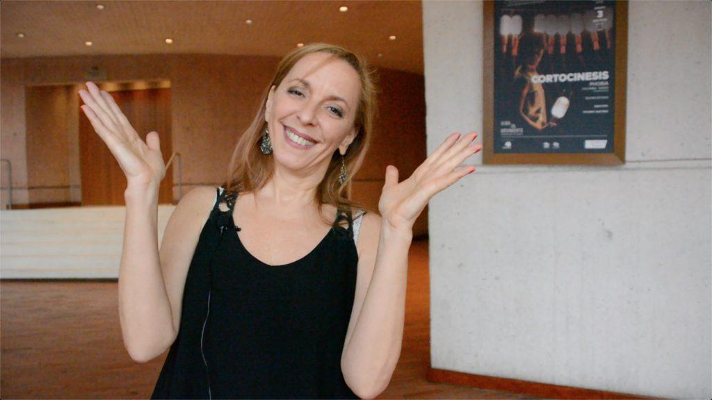 Hablando de Tango con Milena Plebs en Bogotá