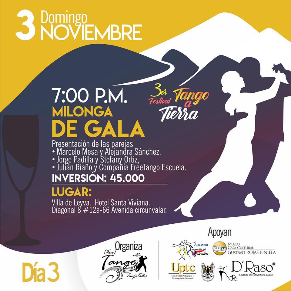 Milonga de Gala Festival Tango a Tierra