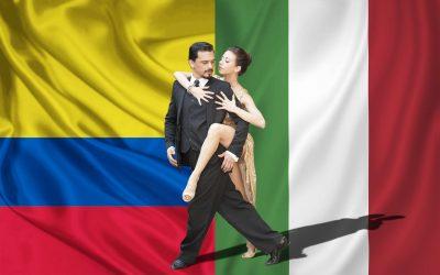 Encuentro milonguero entre Italia y Colombia